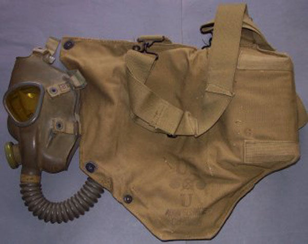 US Army M2A2 Service Gas Mask