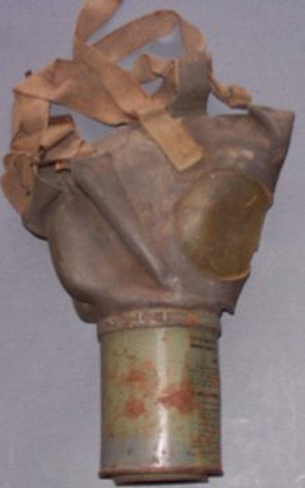 MIA2-I-I Noncombatant Gas Mask
