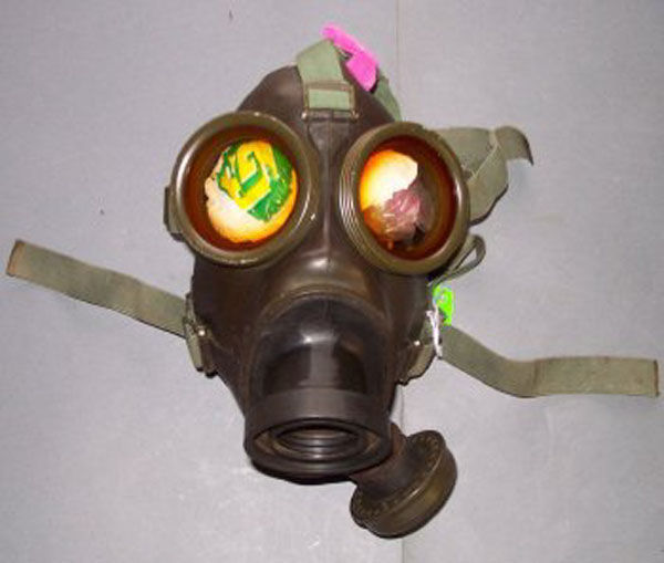 Dutch Type K Gas Mask