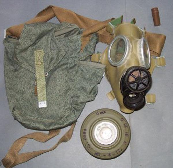 Polish MC-1 Gas Mask with fitl