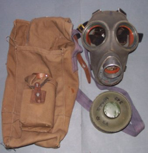 Finnish m/38 Gas Mask filter