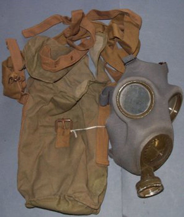 Czech Chema S Gas Mask with ca
