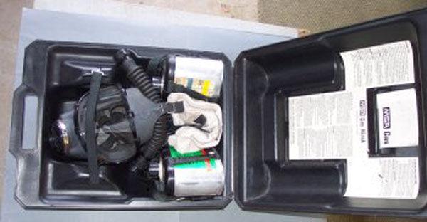 MSA Respirator hose filters
