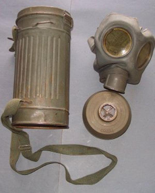German Draeger/Blanco Gas Mask