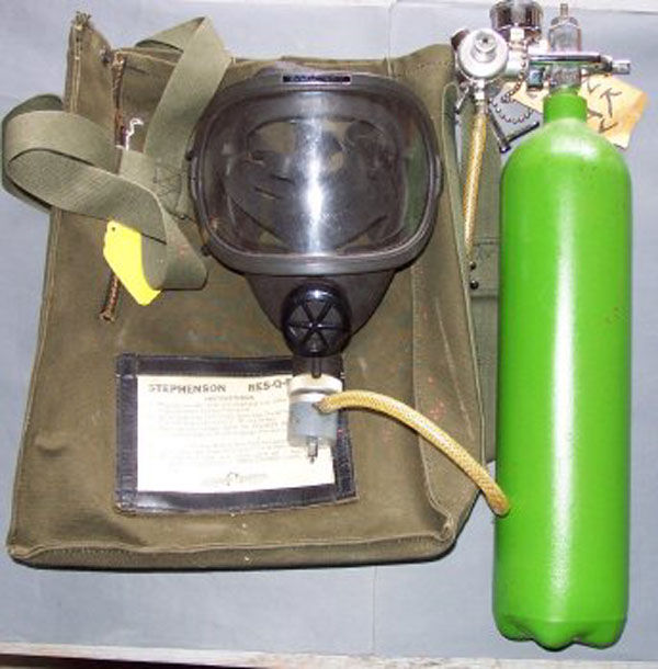 Stephenson Rescue Mask with ca