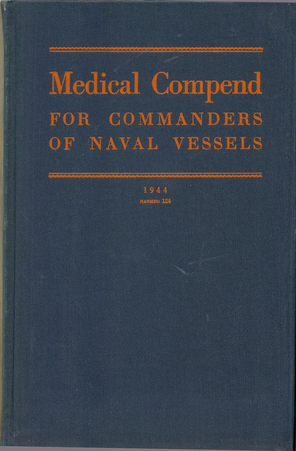 WWII US Navy Medical Manual