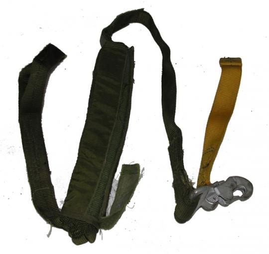 Parachute Harness Lowering Line embly: FlightHelmet.com