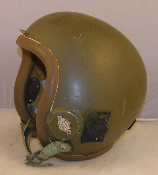 HGU-16A/P Flight Helmet painted Green