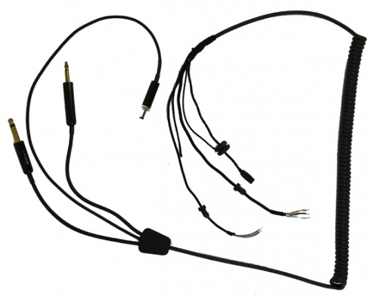 Integrated Microphone And Earphone Anr Helmet Coiled Cord W Ga Plugs Flighthelmet: 3m Wire Harness Tape At Teydeco.co