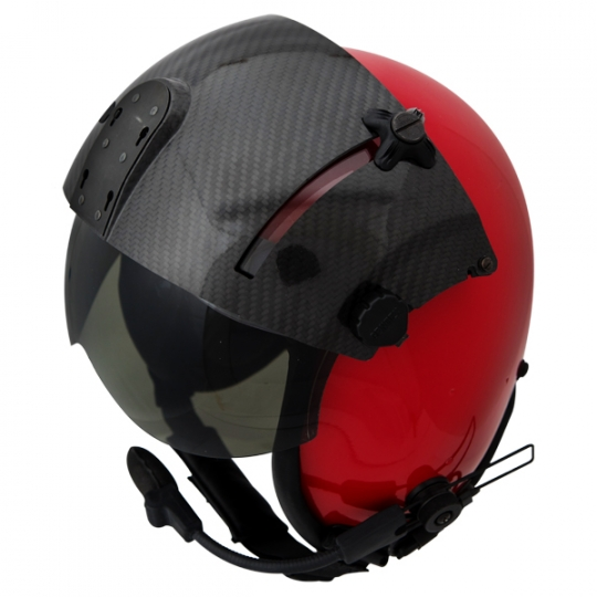 New Kevlar Fixed Wing Flight Helmet with NVG Compatible Dual Visor Assembly