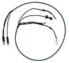 Integrated Microphone and Earphone ANR Helmet Cord w/ U-174 Plug