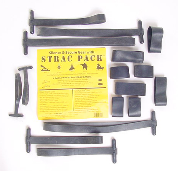 Strac Pack Strap Set to Secure Gear