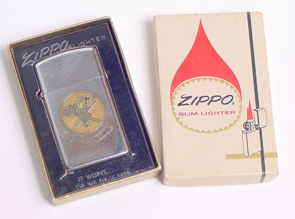Zippo Slim Lighter in original box