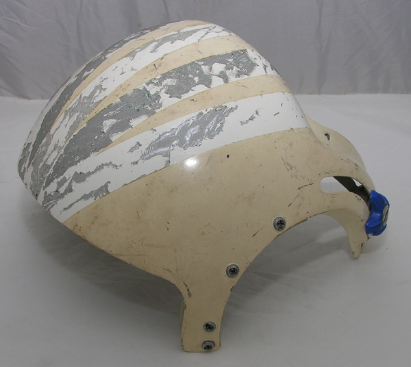 Dual Visor Rams Horn Visor Housing with Visors