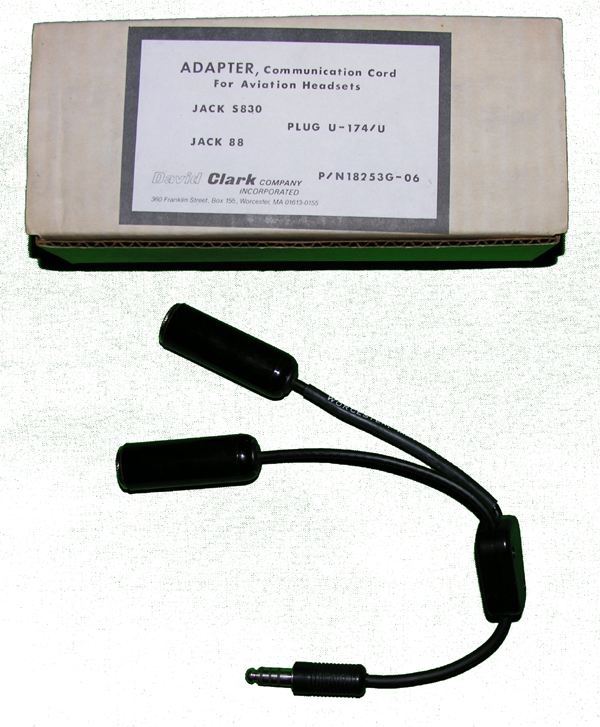 """Adapter Cable- G/A Dual Plugs to Mono U-174"""