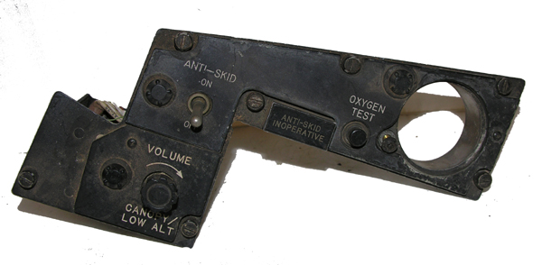 Aircraft Cockpit Instrument Panel Section