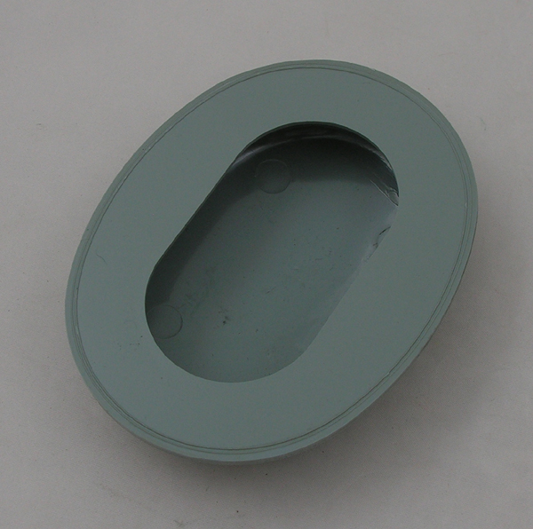Gray Plastic Earcup Set for HGU-26/P, HGU-2A/P Helmets, Pair.