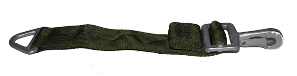 Parachute Strap with Snap Hook and V Ring