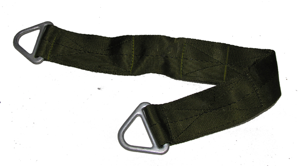 Parachute Strap with V Rings