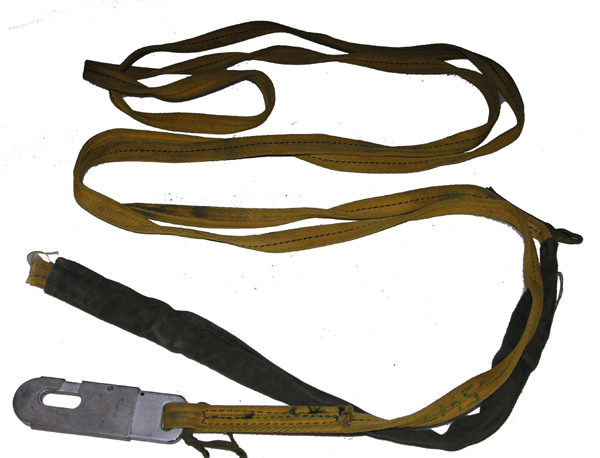 Paratrooper Static Line with Snap Clip