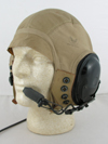 AN-H-15 Flight Helmet modified with modern ANR communications