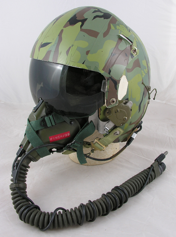 HGU-26/P Dual Visor Helmet with Original Camouflage Tape