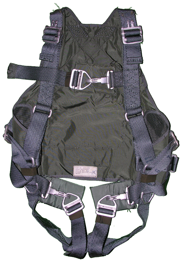 OV-1  Personel Parachute Ejection Seat Adjustable Torso Harness
