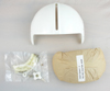 Single Visor Flight Helmet Visor Assembly