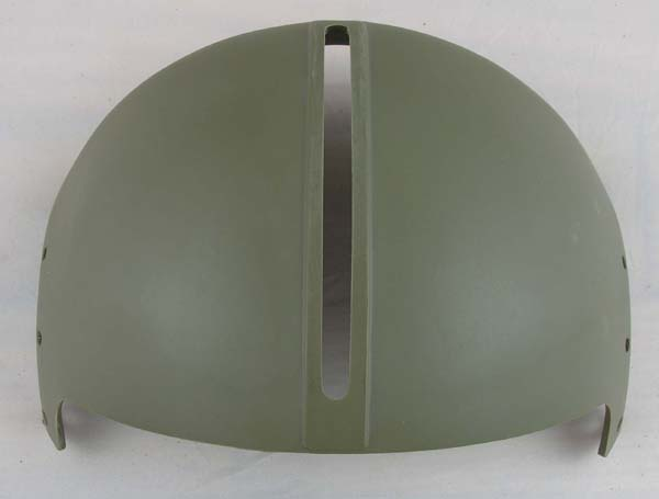 Green Single Visor Housing for US Army APH-5 Helicopter Helmet