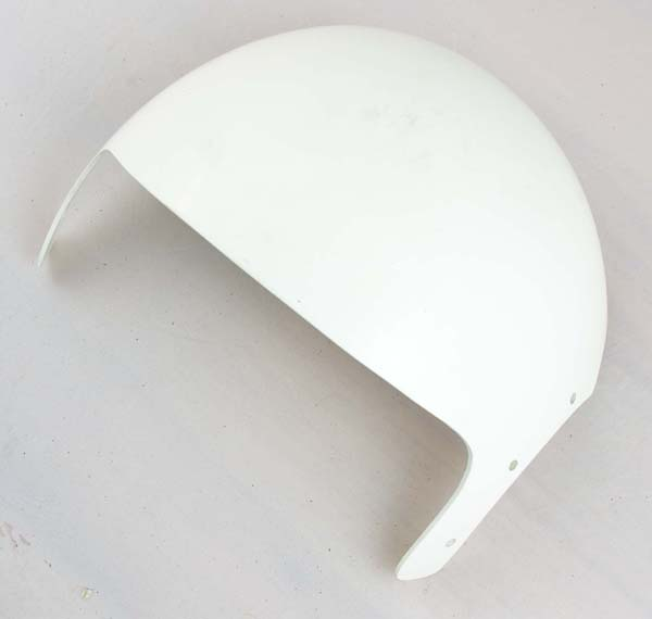 White Dual Visor Housing