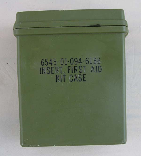 First Aid Kit Case Insert