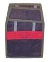 USAF Back Parachute Pad with Warning Strip