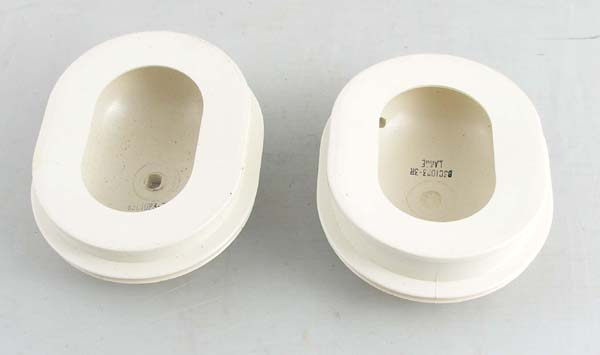 White Earcup Assembly Flat Face Type 411