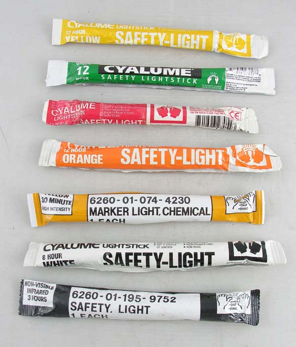 Cyalume Chemical Safety LightStick