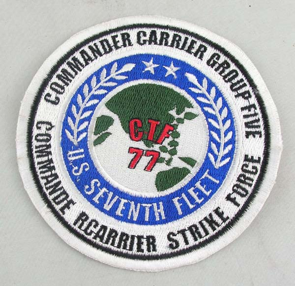 Commander Carrier Group 5 Patch