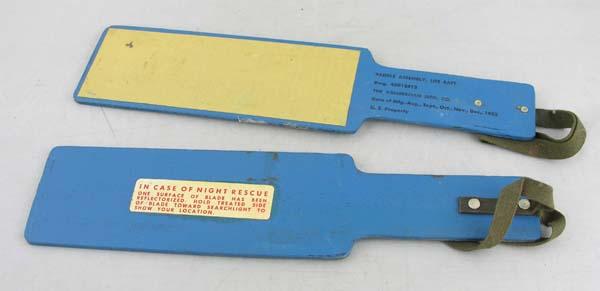 USAF Life Raft Paddles
