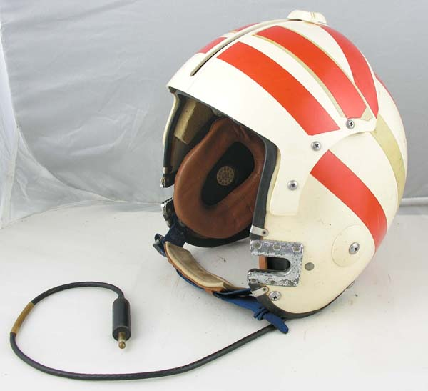 US Navy APH-6 Single Visor Flight Helmet with original Unit Markings