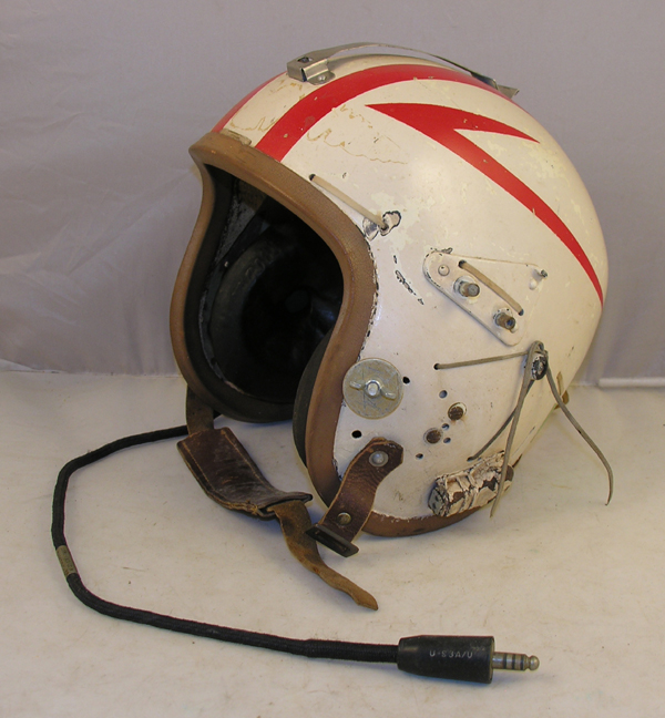 USAF P-4A Flight Helmet with great original artwork