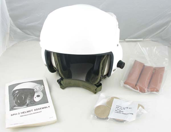 Unissued US Navy SPH-3C Helicopter Helmet in original box