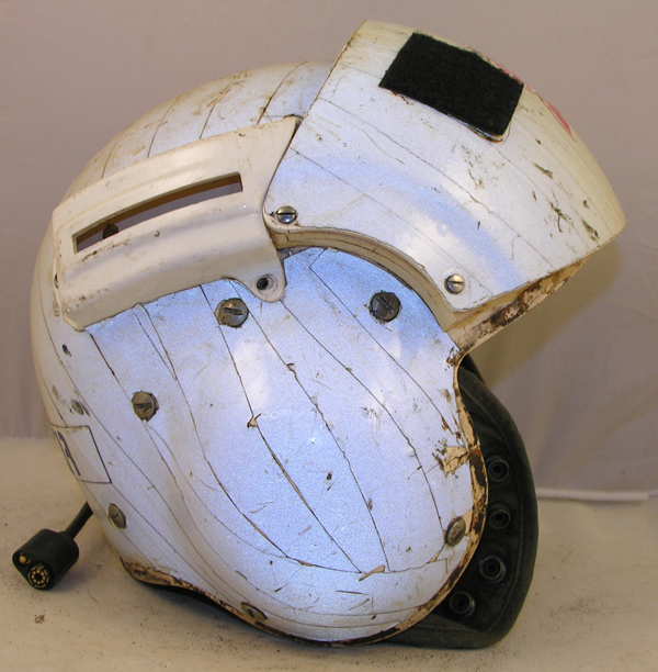 US Navy SPH-3 Helicopter Helmet with reflective tape
