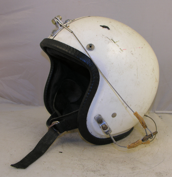 Motorcycle Helmet with unusual modification