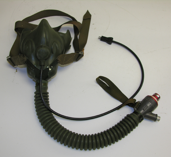 US Navy MS22001 Oxygen Mask with Juliet Head Harness