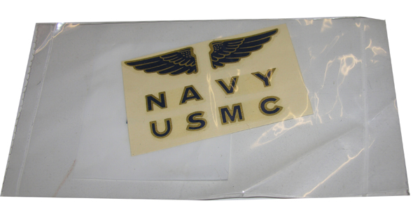 US Navy and USMC HGU-33 and APH-6 Flight Helmet Decal Set