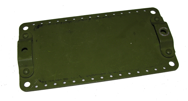 Green Metal Plate for Aircraft