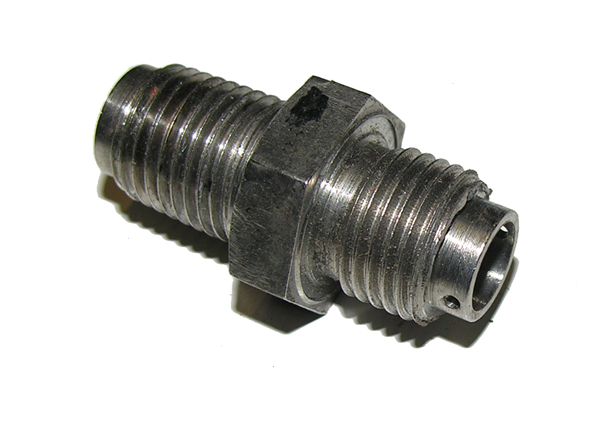 Silver Air or Oxygen Hose Fitting