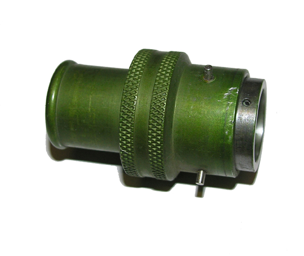 Green Oxygen Mask Hose 3-pin Connector Fitting
