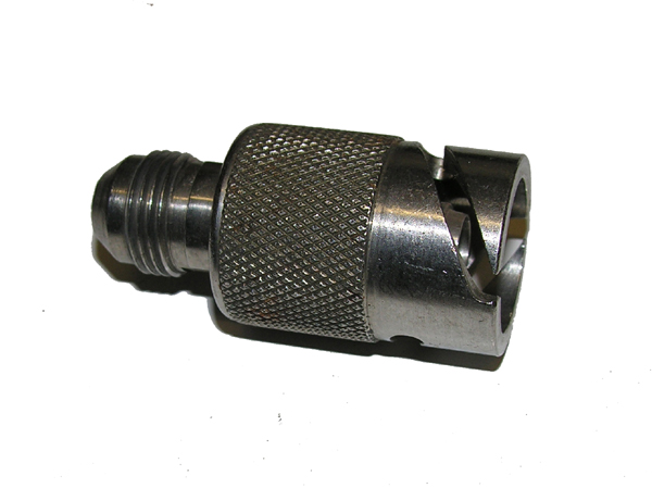 Unknown Air or Oxygen Mask Hose Fitting