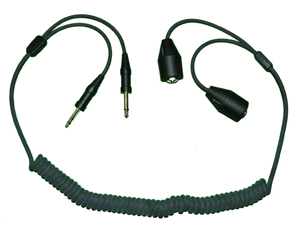 General Aviation Headset Extension Cord