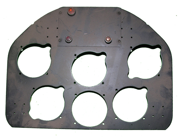 British Aircraft Blind Flying Instrument Panel