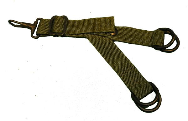 CMU-33? Survival Vest Strap with Snaps and Rings